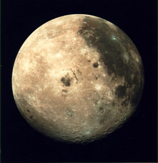 nasa moon picture space