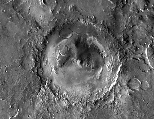 Gale Crater, Image: NASA
