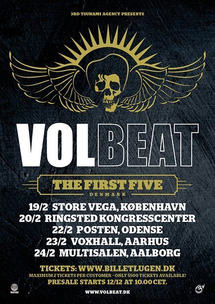 volbeat shows