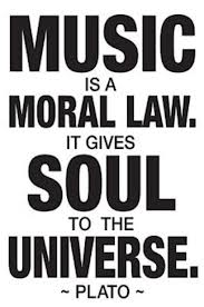 Music is a moral law