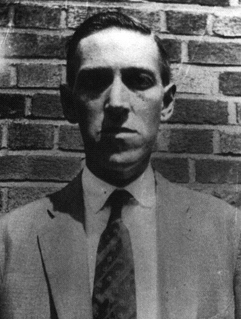 A picture of HP Lovecraft