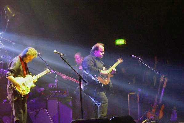 A picture of a Steve Hackett gig