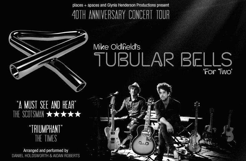 A picture of tubular bells for two