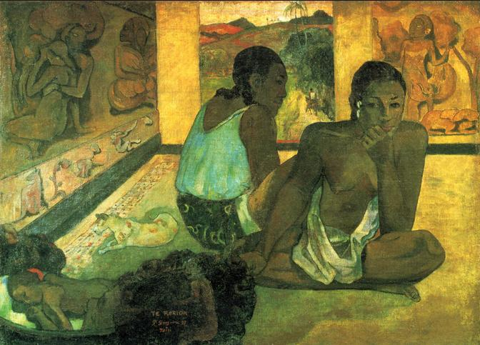 A picture by Gauguin