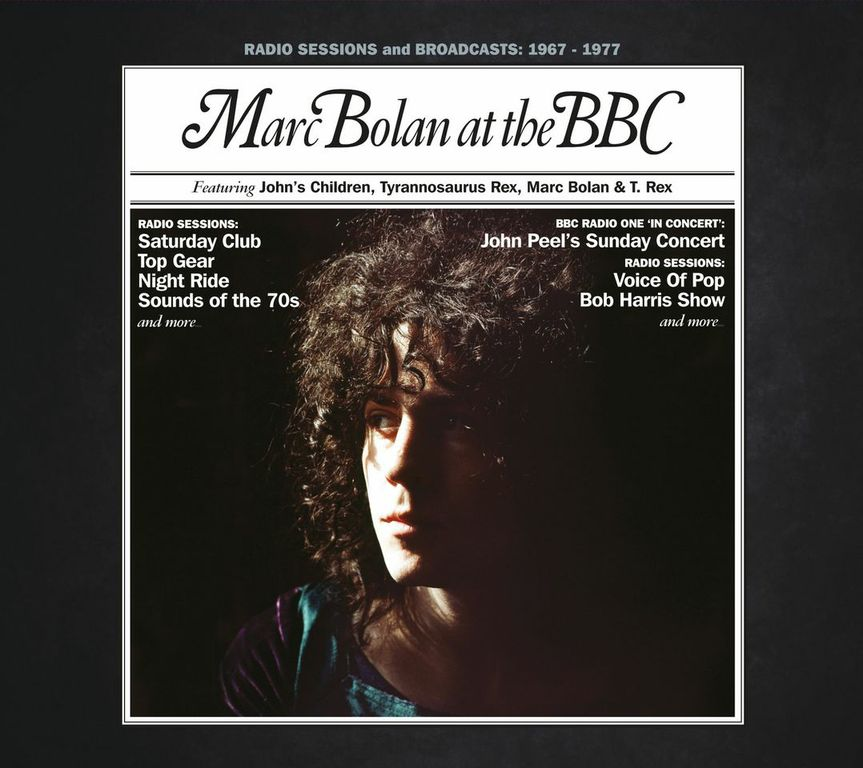 A picture of Marc Bolan