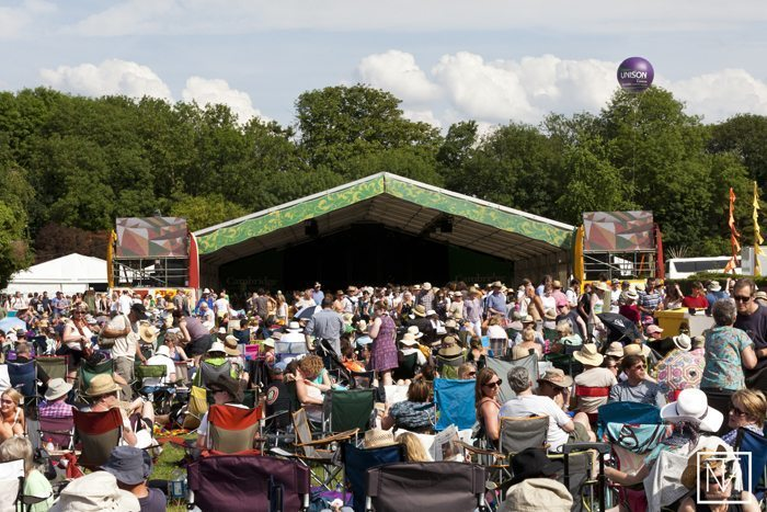 A picture from Cambridge Folk Festival