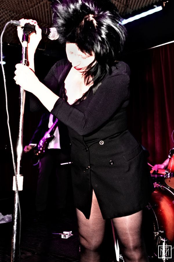 A picture of Lydia Lunch by Carl Batson