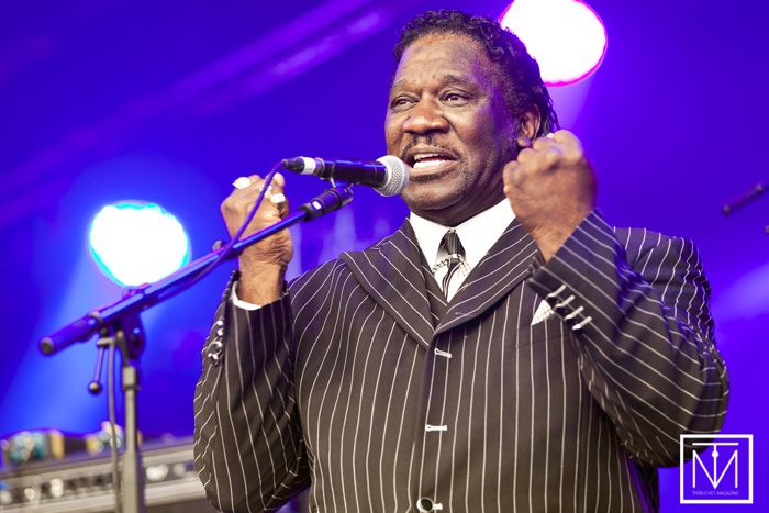 A picture of the Mud Morganfield band