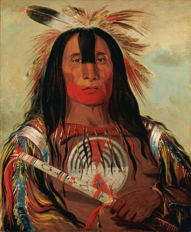 A picture by George Catlin