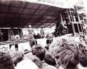 A picture of a UK festival in the 1970s