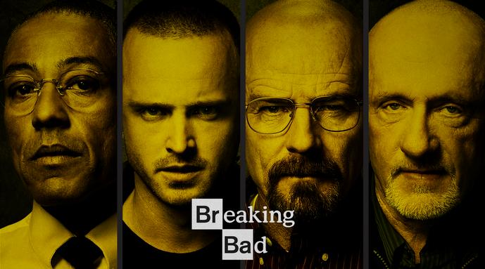 A publicity photo of Breaking Bad