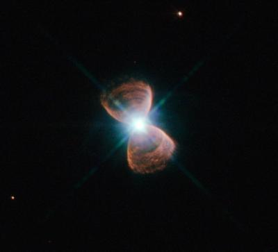 A picture of a butterfly nebula