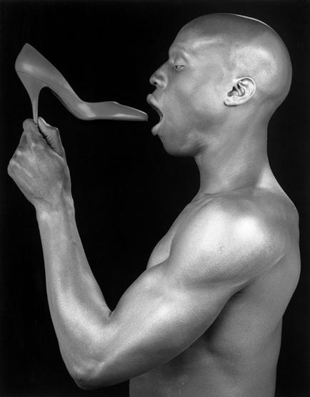 A photograph by Robert Mapplethorpe