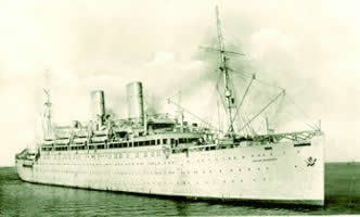 A picture of the Empire Windrush