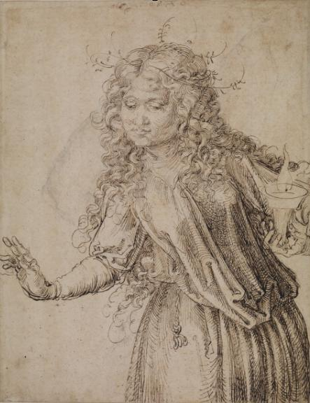 A picture by Albrecht Durer, Courtesy of the Courtauld Institute