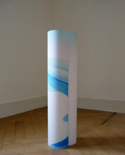 Clare Kenny Blue Monday (Extended Version) 2010 Omega Print 100 x 160 x 60 cm