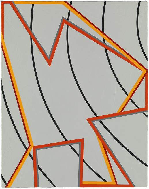 Tomma Abts Jeels 2012                                                                    © Tomma Abts, Courtesy Galerie Buchholz, Berlin/Cologne