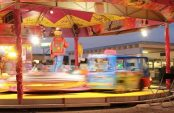 A picture of a carousel by Sean Keenan