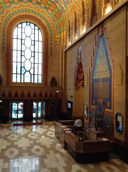 A picture of the Guardian Building, Detroit