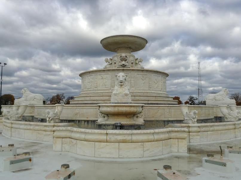 A picture of The James Scott Memorial Fountain, Detroit