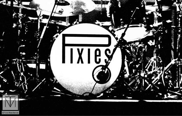 A picture of The Pixies by Nick Henderson