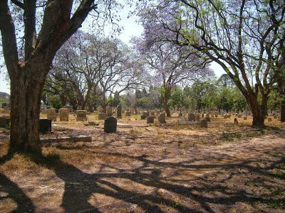 A view of Pioneer Cemetary