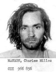 A picture of Charles Manson