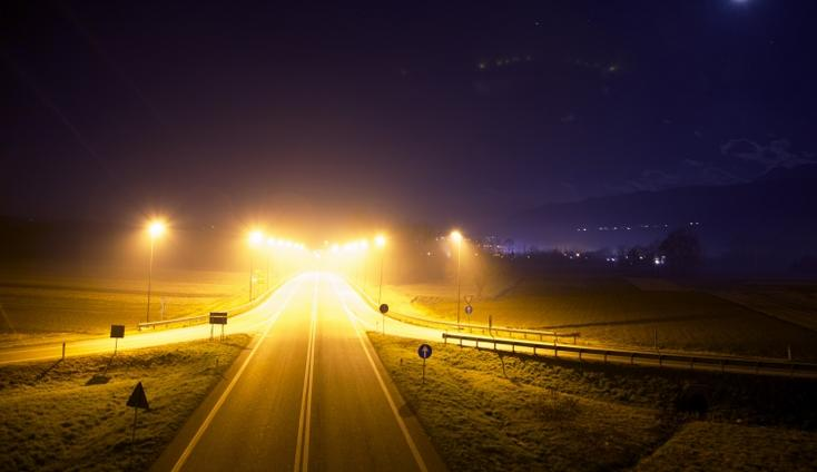 A picture of a highway by splitshire