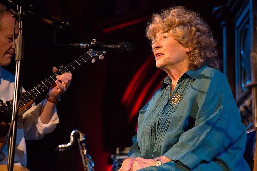 A picture of shirley Collins by Karolina Urbiniak