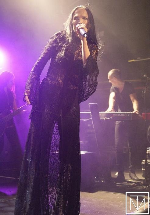 A photograph from Tarja Turunen London show by Tim Hall