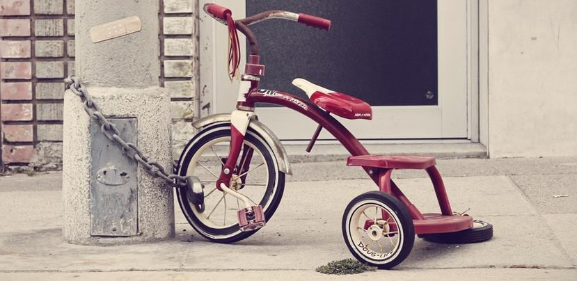 A picture of a tricycle by Florian Klauer