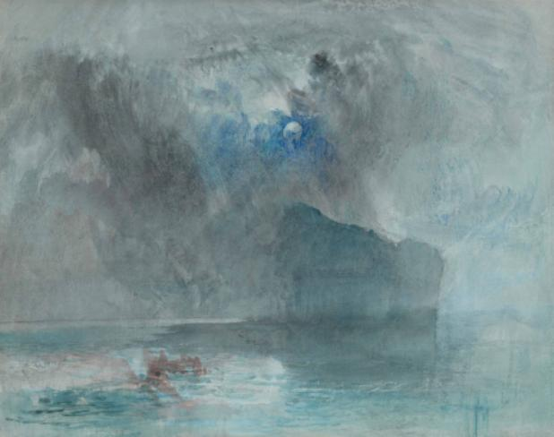 Joseph Mallord William Turner (1775-1851) On Lake Lucerne, looking towards Fluelen, 1841 (?) Watercolour on paper, 223 x 283 mm The Courtauld Gallery