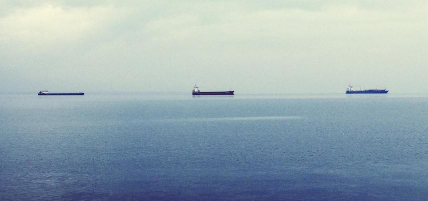 A picture of tankers by John Marakevelis