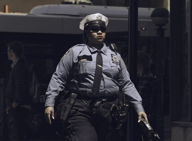 Fat policewoman by by Instant Vantage