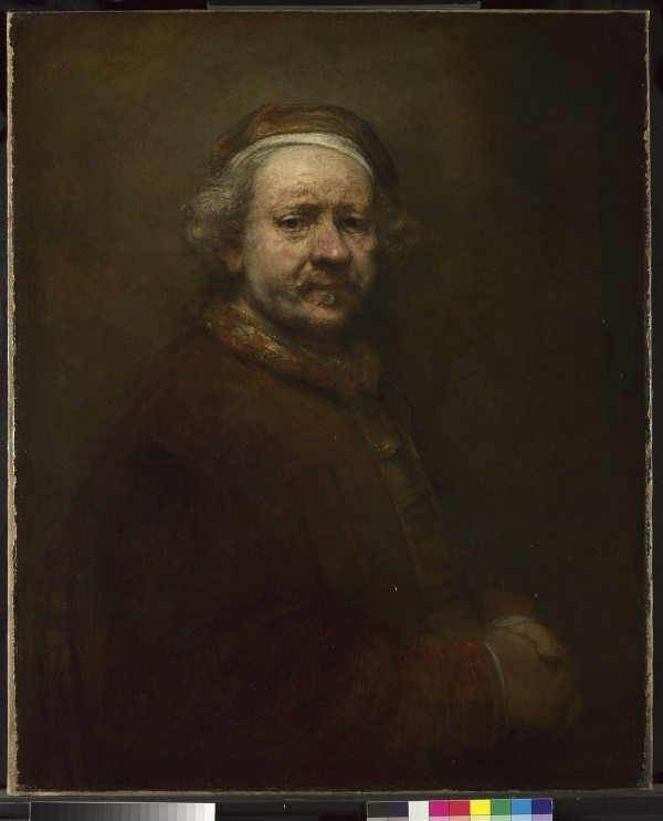 NG221 Rembrandt (1606-1669) Self Portrait at the Age of 63, 1669 © The National Gallery, London