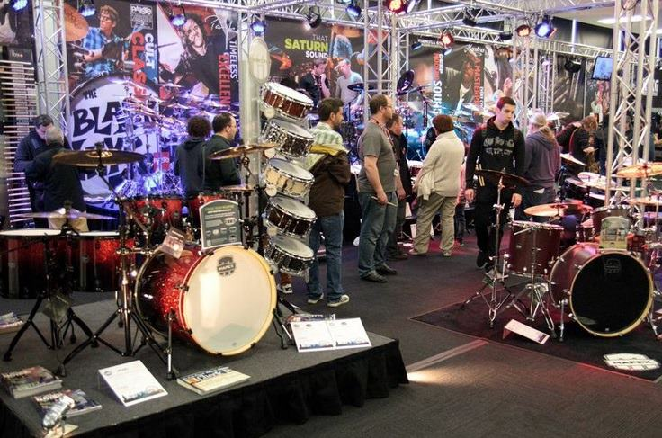 London Drum Show by Chris Patmore