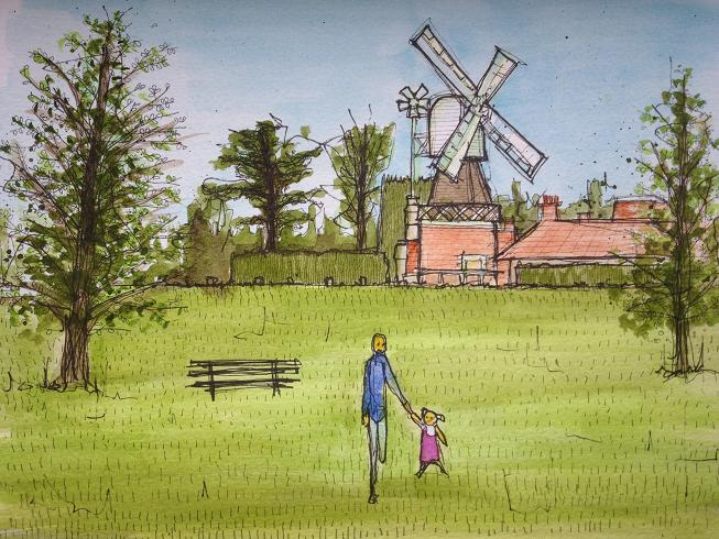 windmill by dan booth