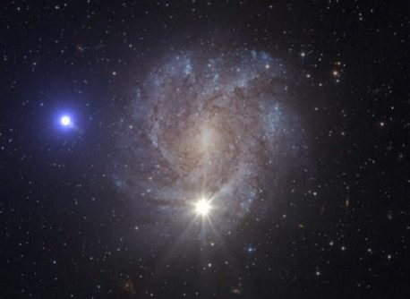 Fast star by ESA Hubble, NASA