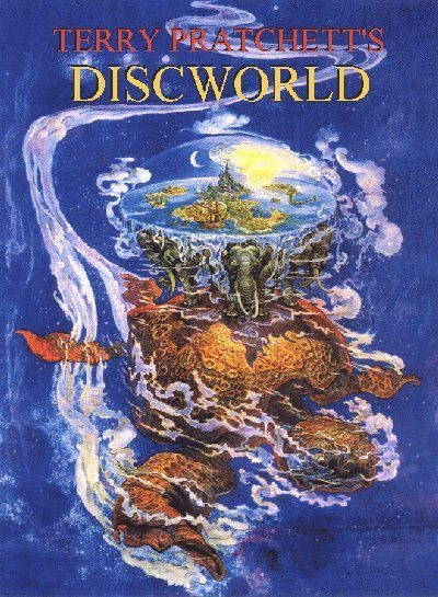 Pratchett, Discworld, Front Cover