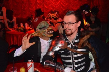 Goblin King table guests