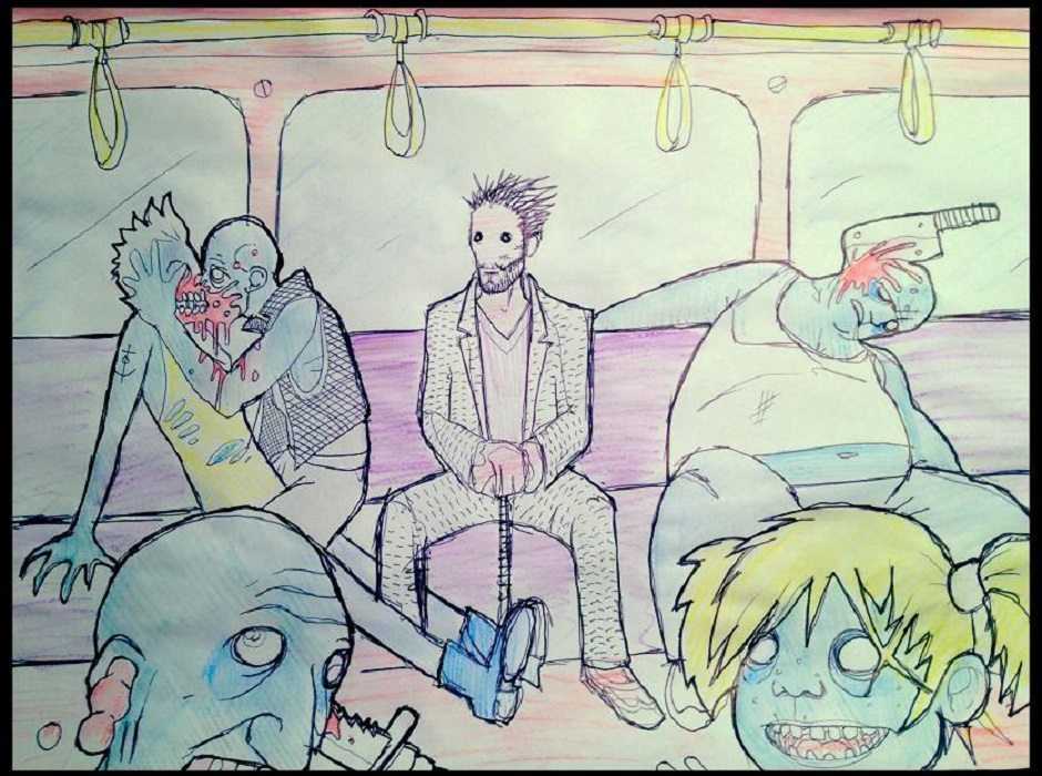 zombies-on-tube feature size