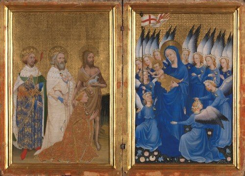 English or French (?) The Wilton Diptych about 1395-9 © The National Gallery, London