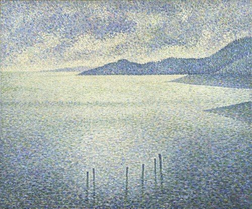 Théo van Rysselberghe Coastal Scene about 1892 © The National Gallery, London