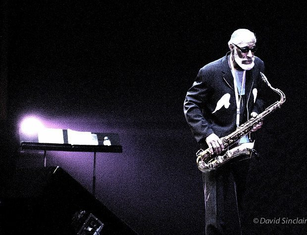 SONNY ROLLINS. at Barbican, 30/4/04. by David Sinclair