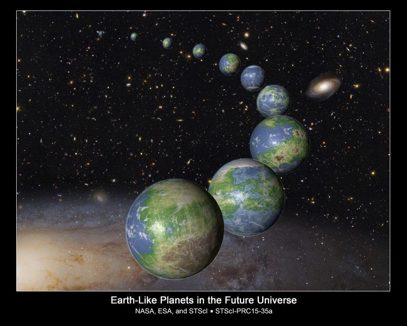 new earths by NASA, ESA, and G. Bacon (STScI)