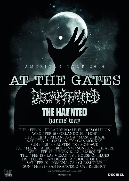 At the Gates US TOur