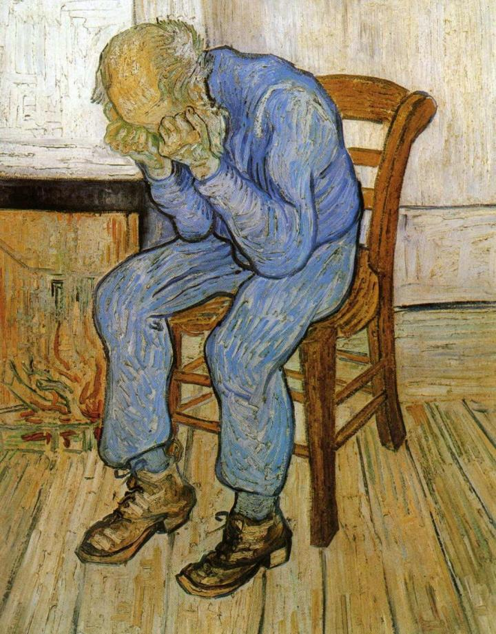an Gogh Old Man in Sorrow