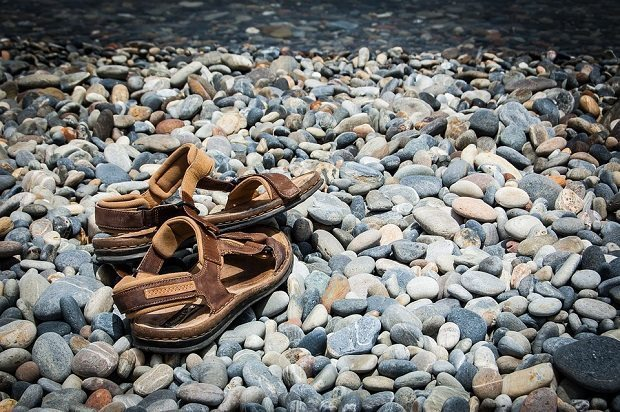 sandals, ethical products