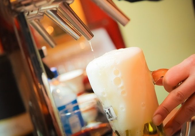 Frothy beer, sustainable fuel