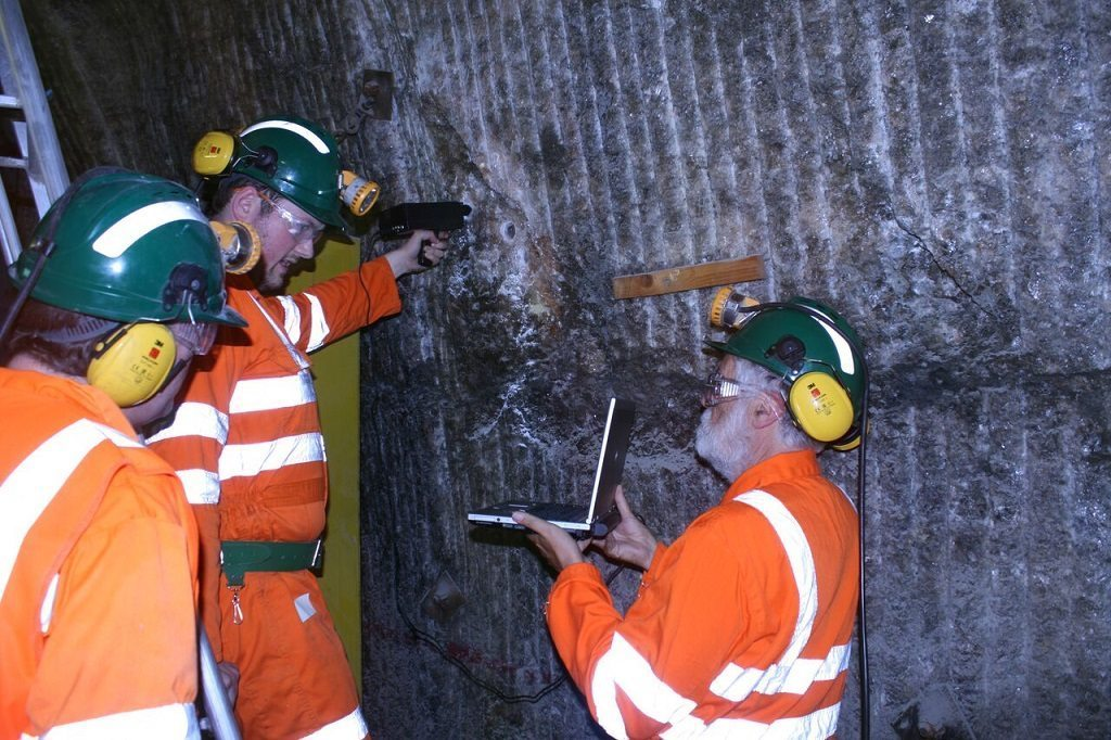 Analysing a Yorkshire saltmine by Charles Cockell